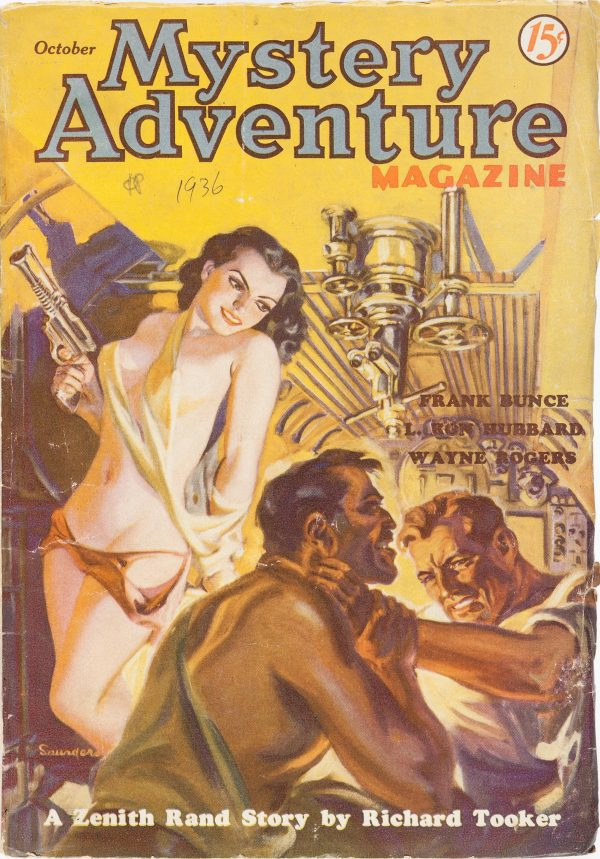 Mystery Adventures Magazine - October 1936