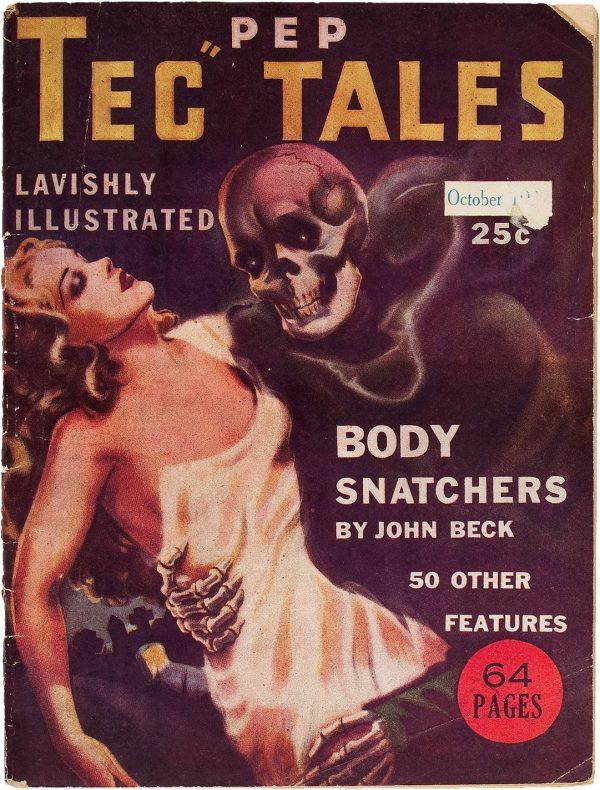 Pep Tec Tales - October 1937