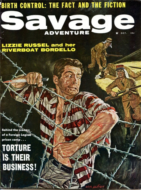 Savage-Adventure-October-1960-cover-