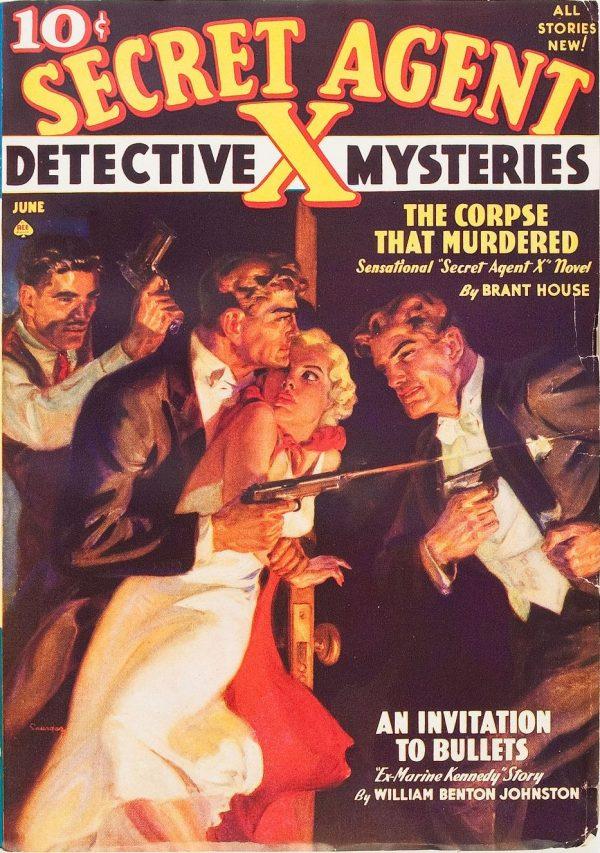Secret Agent X - June 1938