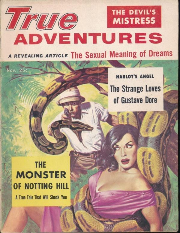 TRUE ADVENTURES November 1956