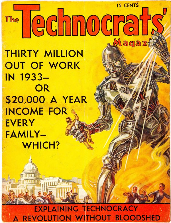 The Technocrats' Magazine 1933