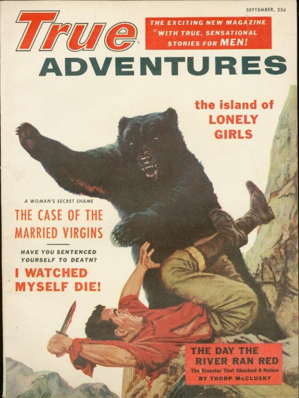 True Adventures September 1955