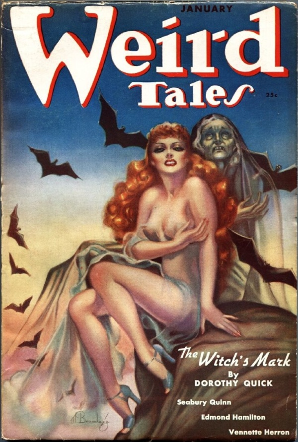 Weird Tales January 1938