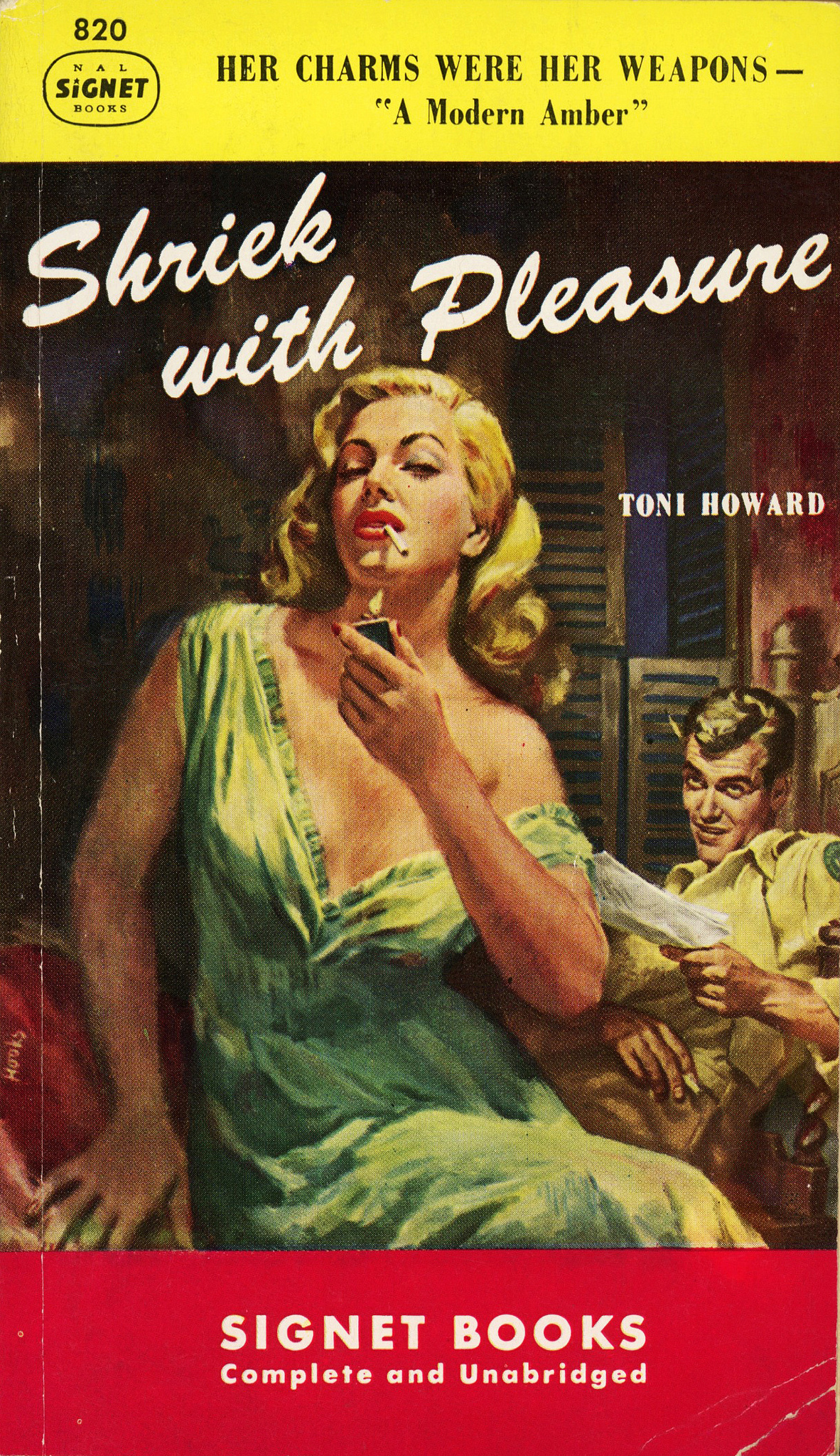 Image result for shriek with pleasure pulp cover