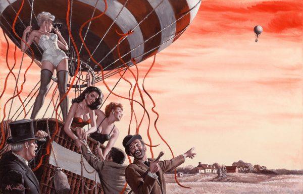 21095145-Miss_Floating_Love,_For_Men_Only_illustration,_November_c._1965