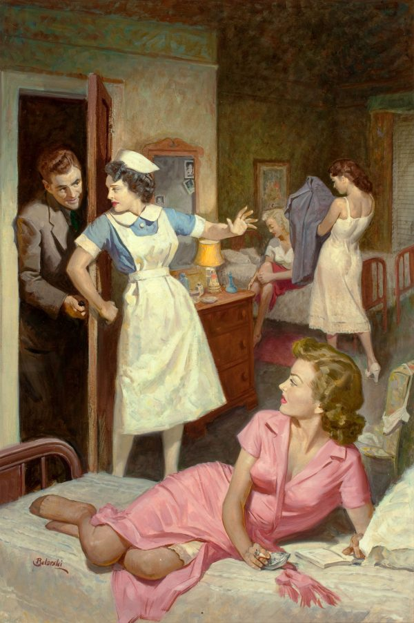 21099637-Nurses'_Quarters_Digest,_paperback_cover