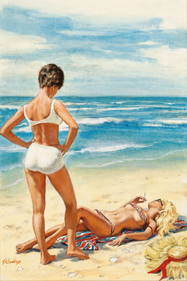 21144758-PAUL_RADER_(American,_1906-1986)._Pagan_Summer,_paperback_book_cover,_1965