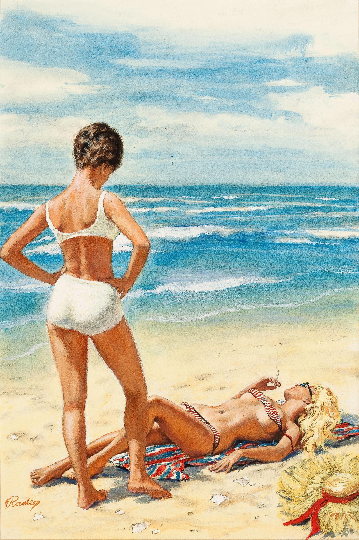 21144758-PAUL_RADER_(American,_1906-1986)._Pagan_Summer,_paperback_book_cover,_1965