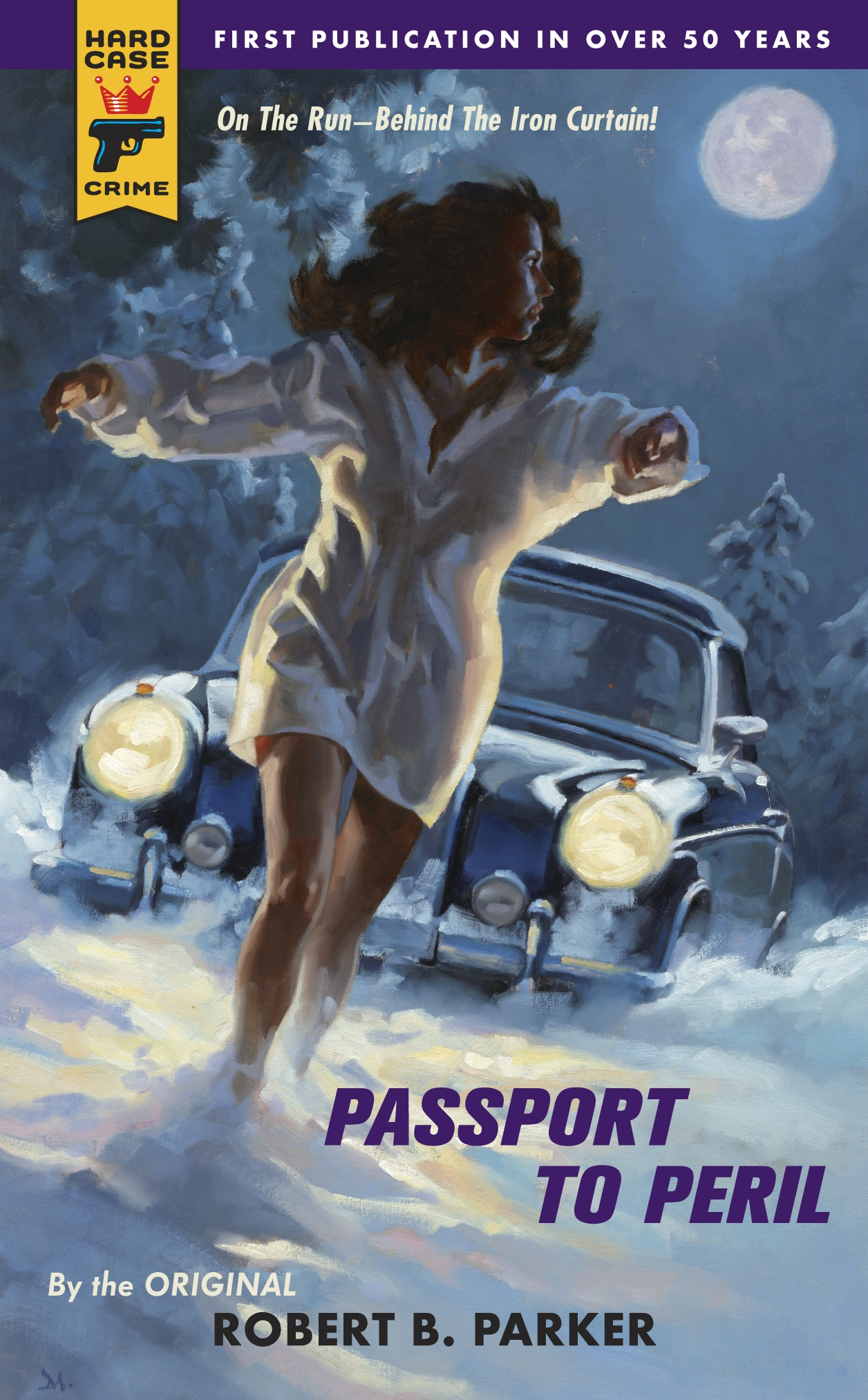 Passport To Peril – Pulp Covers