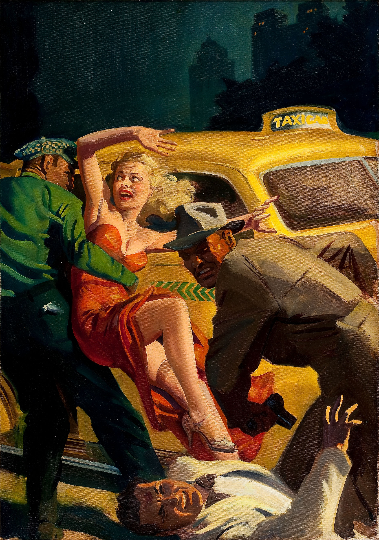 22192101-April_1942_Oil_on_canvas_30_x_21.5_in._Ward,_Hugh_Joseph