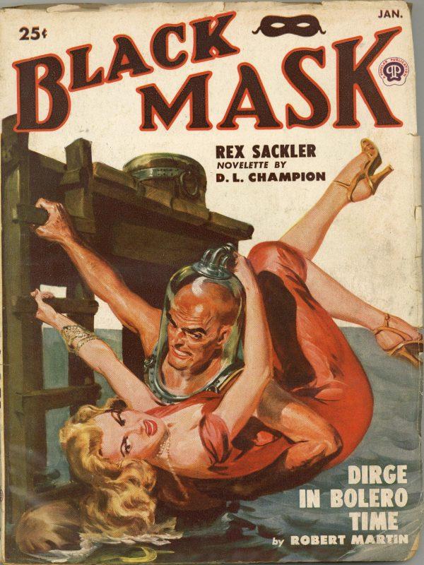 Black Mask January 1950