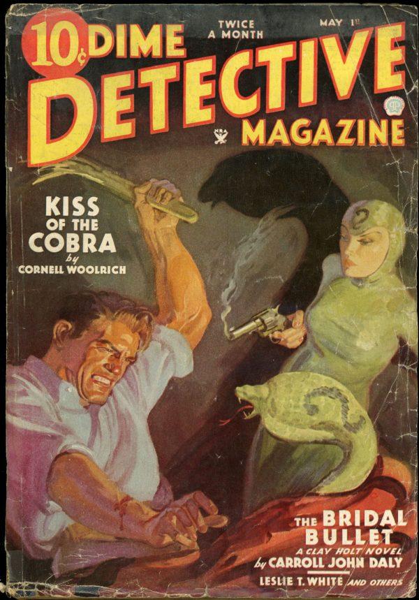 DIME DETECTIVE MAGAZINE. May 1, 1935