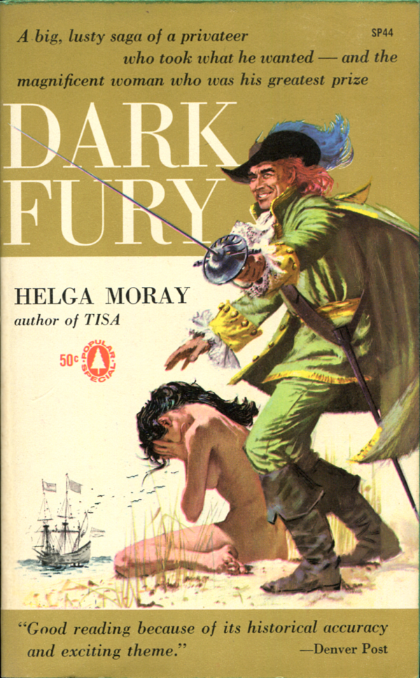 Dark Fury. Popular Library, 1959