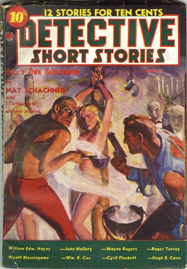 Detective Short Stories V1#3 February 1938