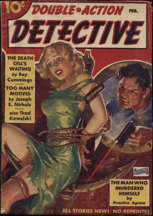 Double Action Detective 1940 February