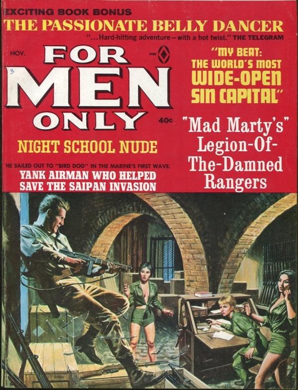 For Men Only November 1965