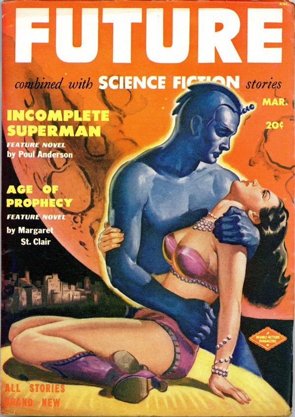 Future Combined with Science Fiction March 1951