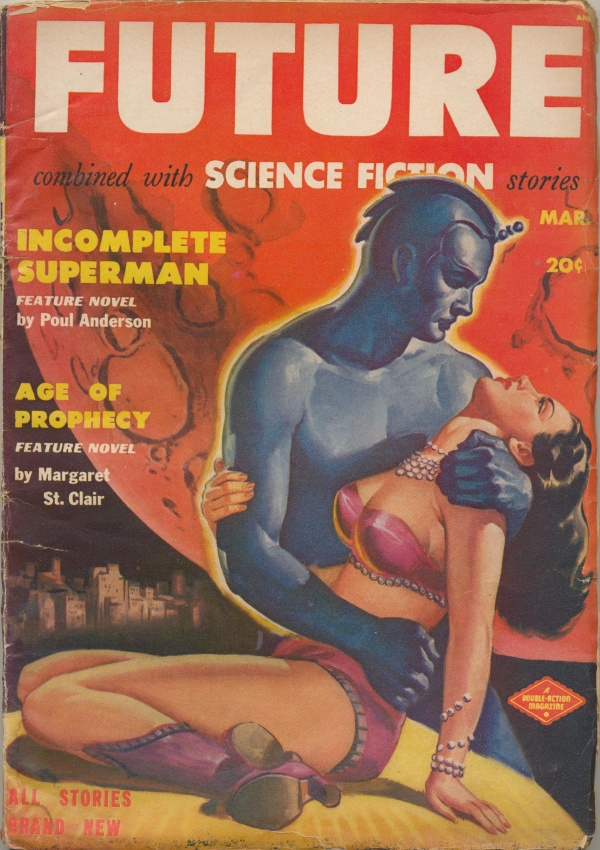 Future Combined with Science Fiction Stories, March 1951