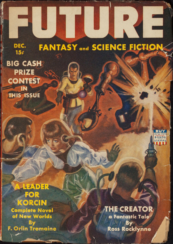Future Fantasy and Science Fiction, December 1942