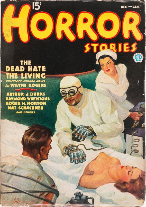 Horror Stories - December 1935
