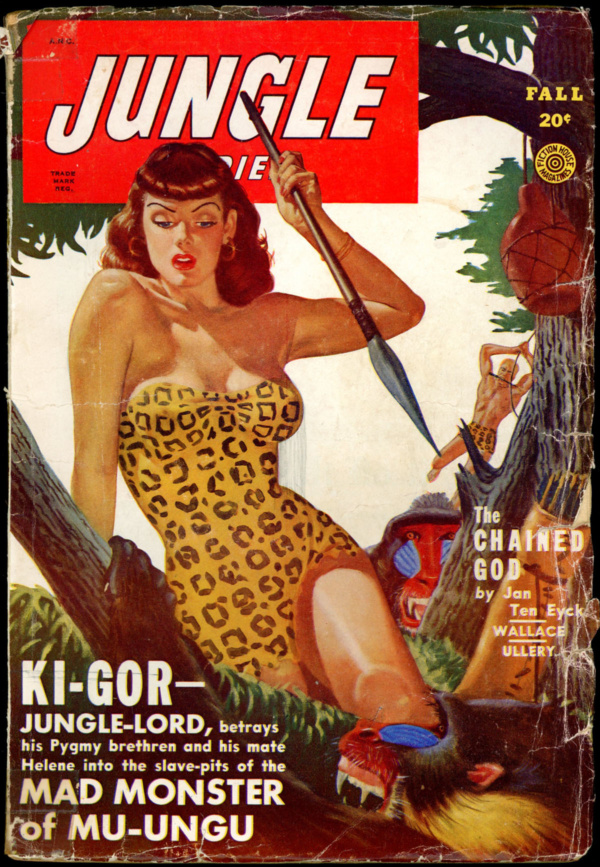 JUNGLE STORIES. Fall 1949