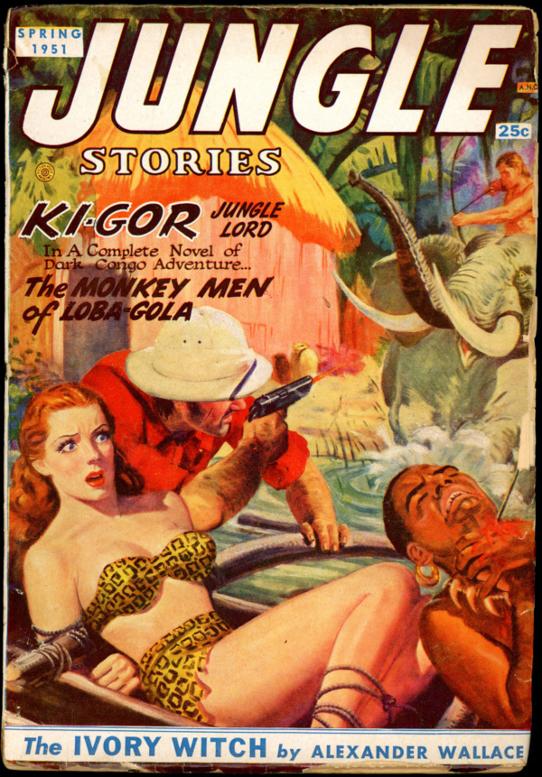 JUNGLE STORIES. Spring 1951