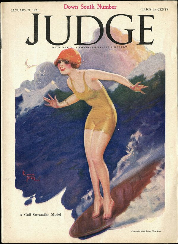 Judge January 1923