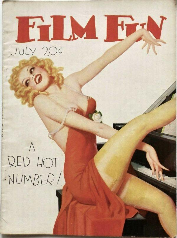 July 1935 Film Fun Magazine