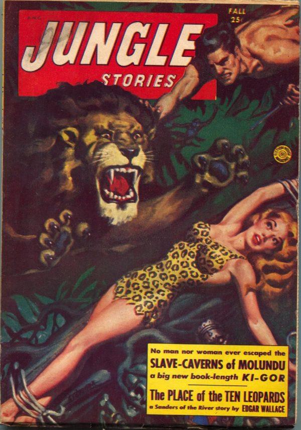 Jungle Stories Fall 1953