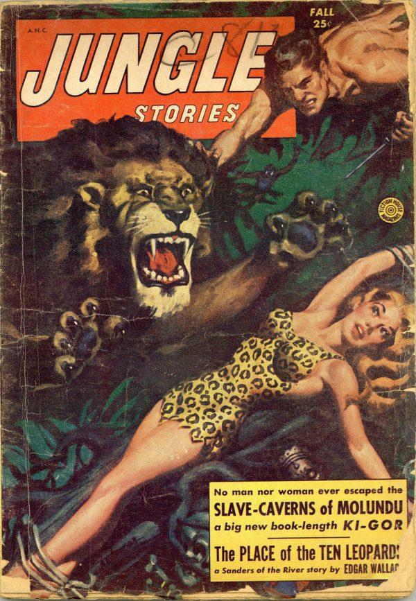 Jungle Stories September 1953