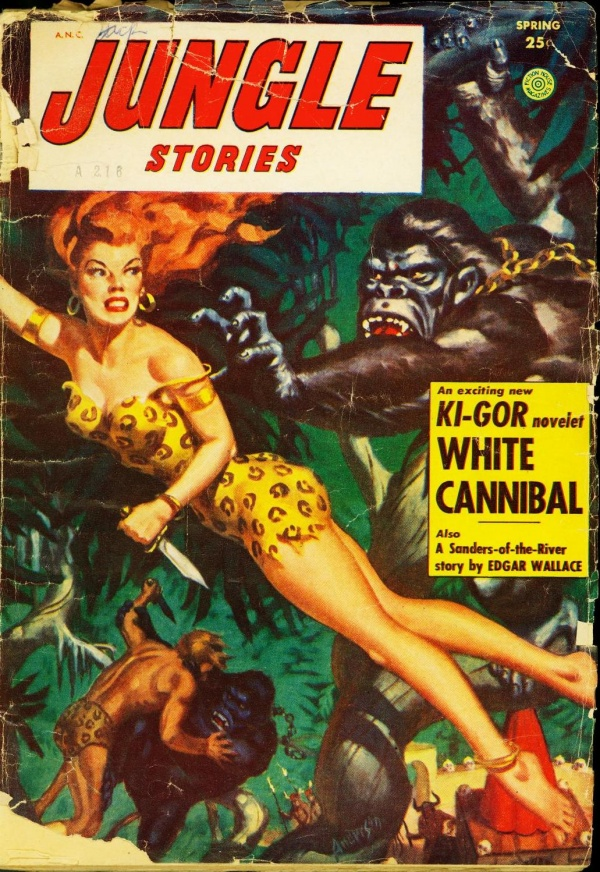 Jungle Stories Spring 1954