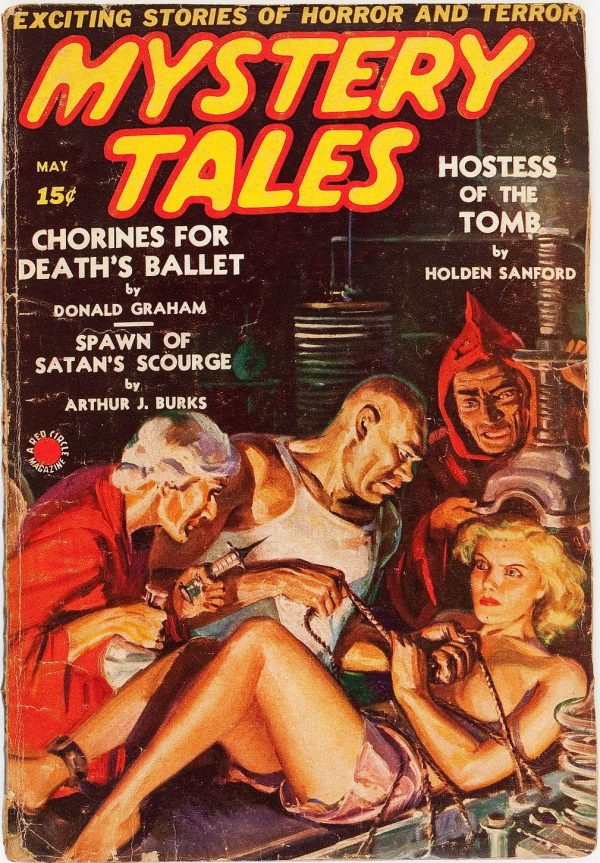 Mystery Tales - May 1939