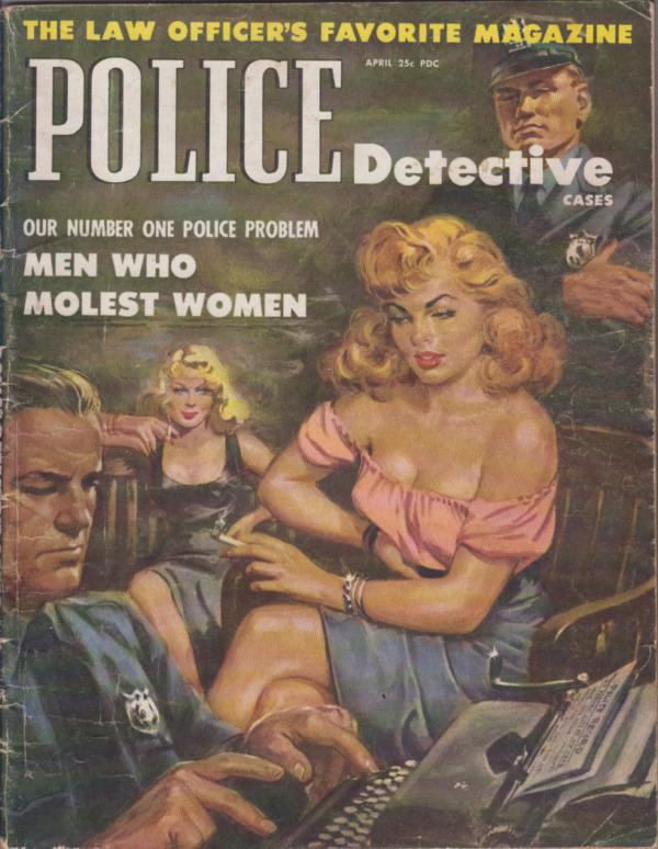 Police Detective Cases - April 1953