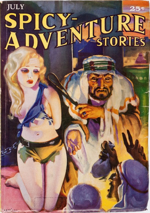 Spicy Adventure Stories - July 1935