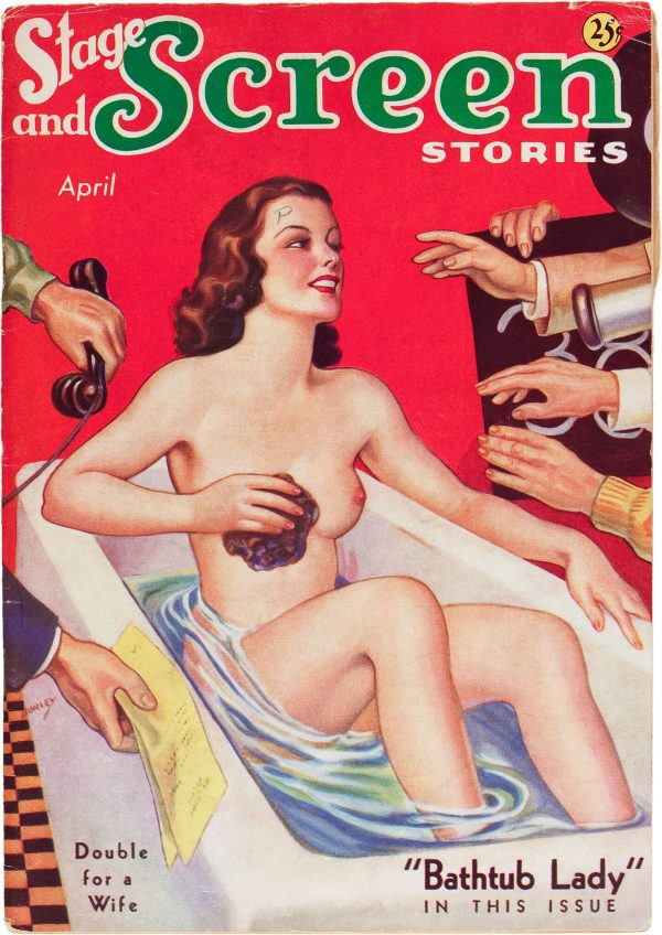 Stage and Screen Stories - April 1936