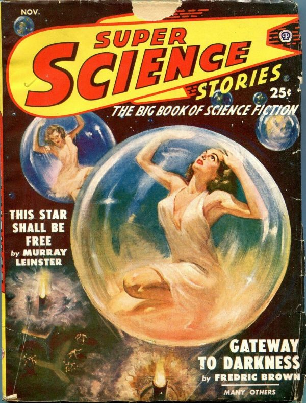 Super Science Stories November 1949
