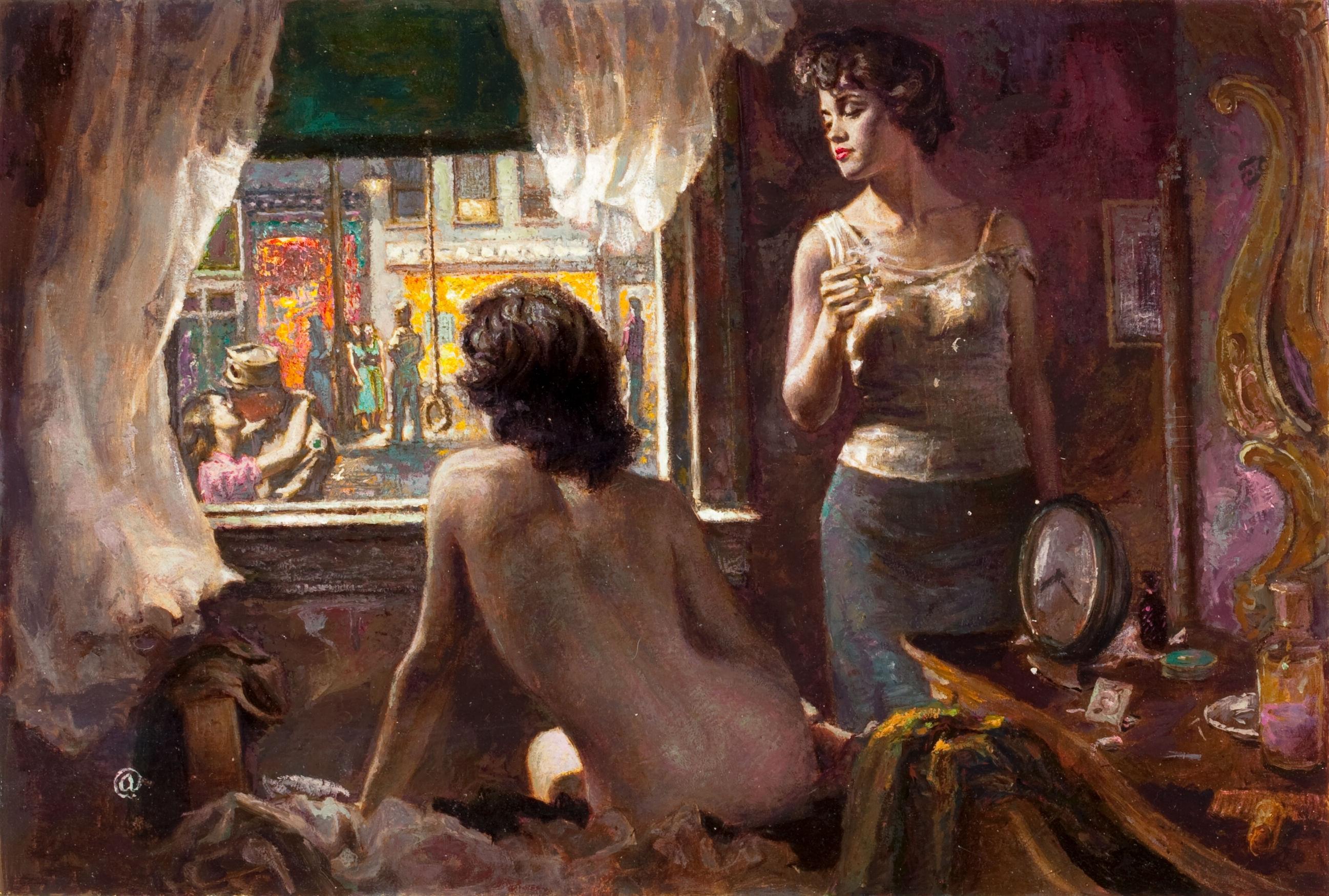 Erotic lonely woman art photos 560