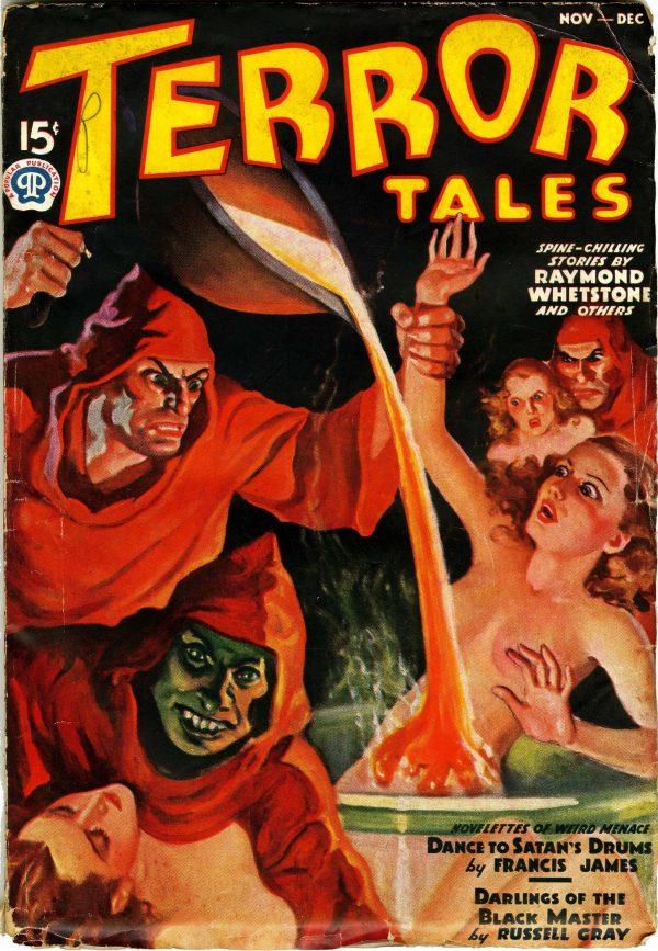 Terror Tales November-December 1937
