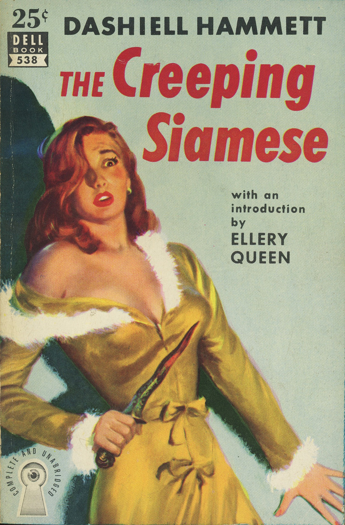 Image result for the creeping siamese pulp cover
