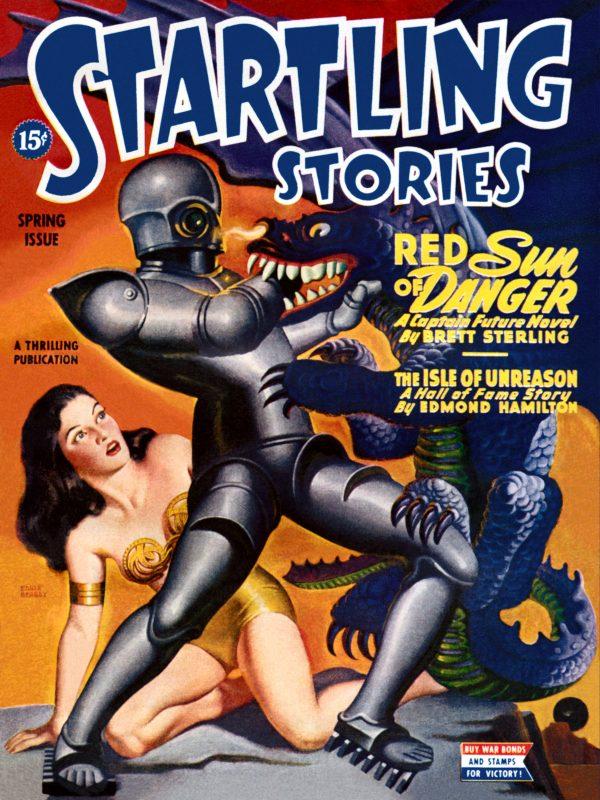 Startling Stories, Spring 1945