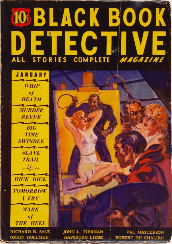 Black Book Detective - January 1936