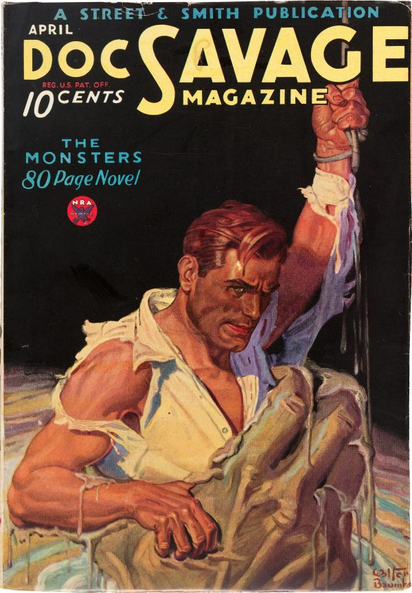Doc Savage - April 1934