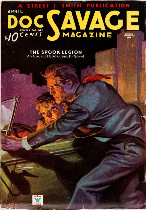 Doc Savage - April 1935
