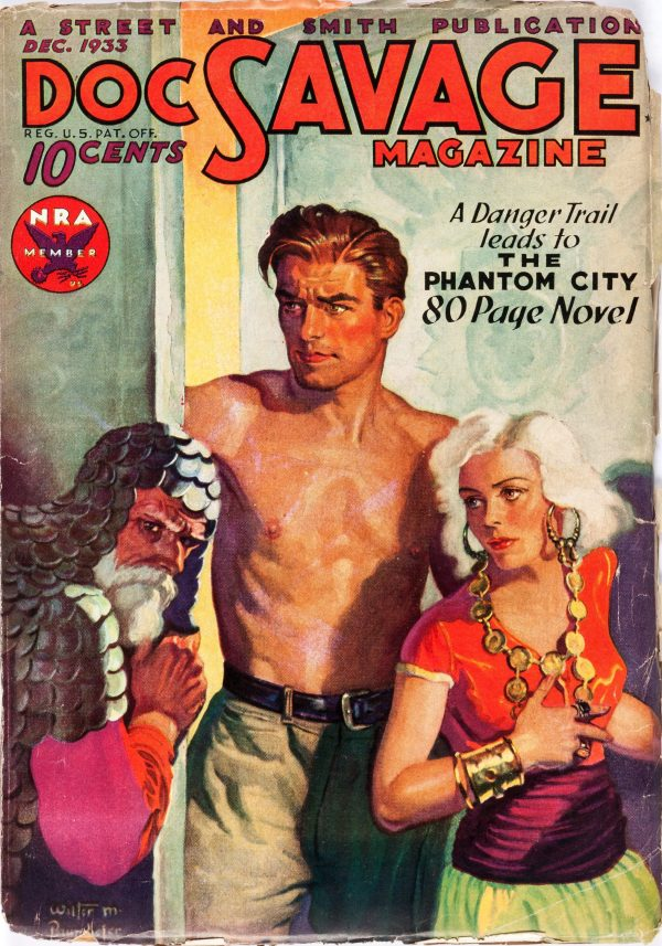 Doc Savage - December 1933