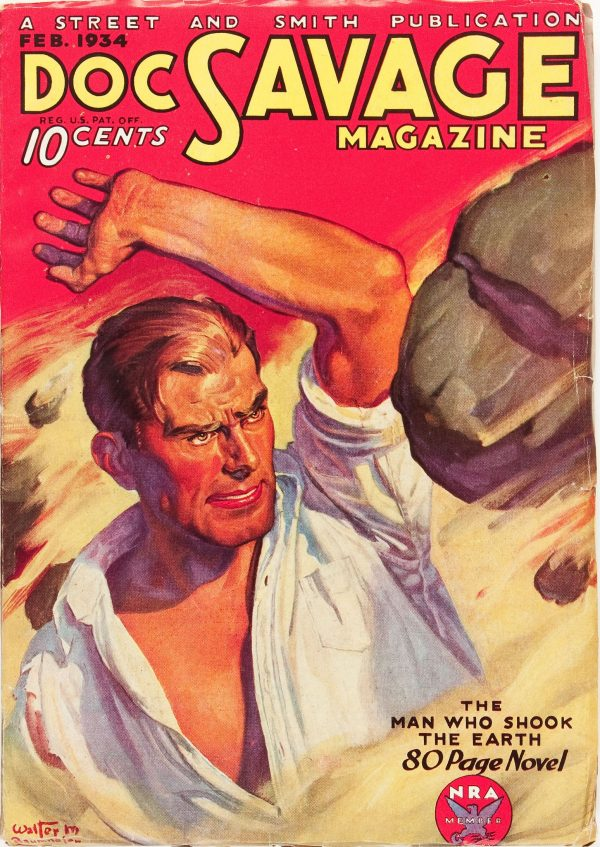 Doc Savage - February '34