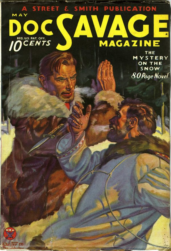 Doc Savage May 1934