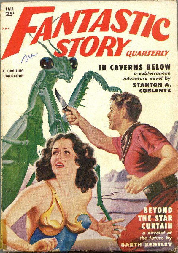 Fantastic Story Magazine September 1950