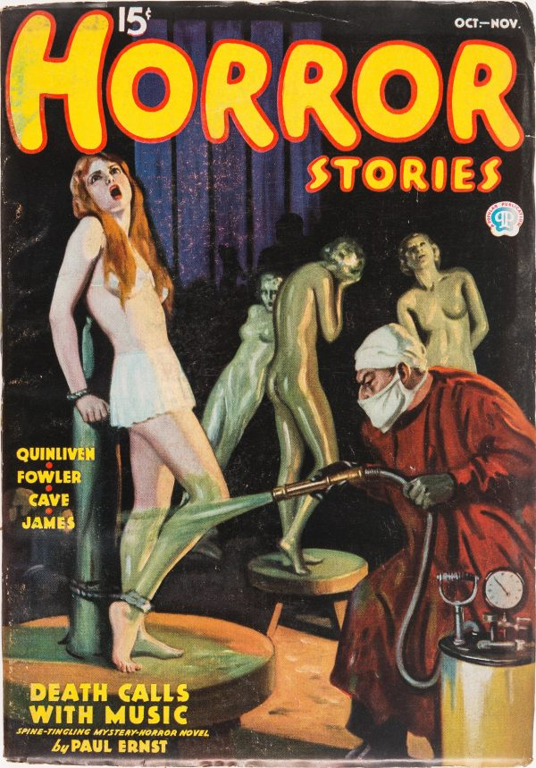Horror Stories - October November 1936