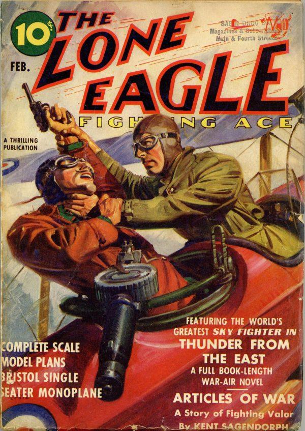 Lone Eagle February 1939